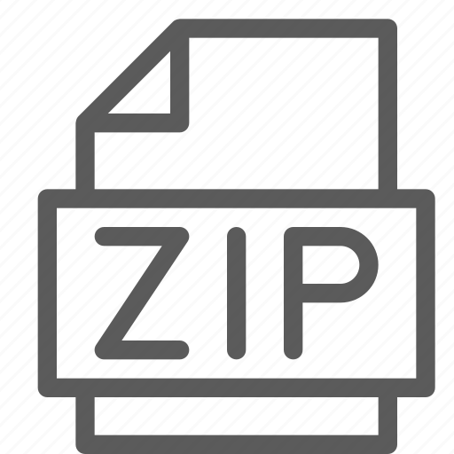 archive, digital, document, file, files, note, zip icon
