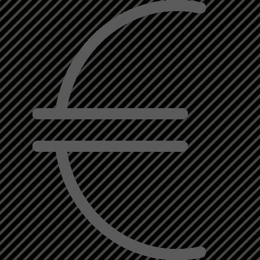 business, commerce, economics, euro, finance, money icon