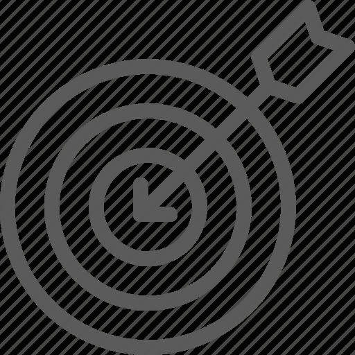 business, commerce, economics, finance, money, target icon