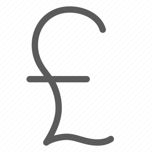business, commerce, economics, finance, money, pound icon