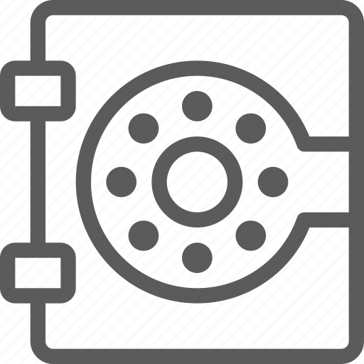 box, business, commerce, economics, finance, money, safe icon