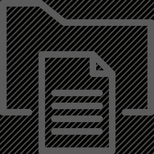 add, computer, digital, document, file, folder, folders icon
