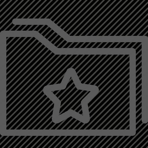 computer, digital, document, favorite, folders icon