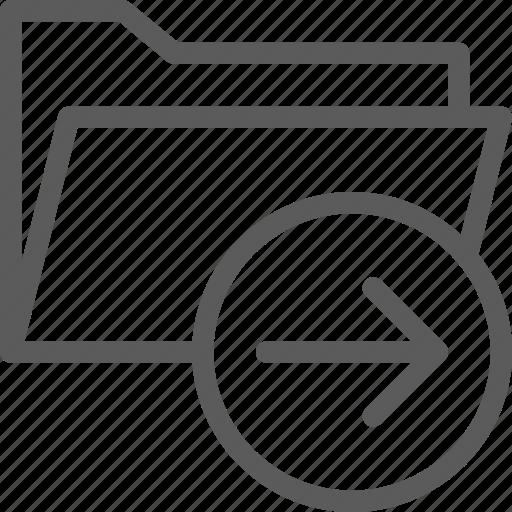 computer, digital, document, folder, folders, paste icon