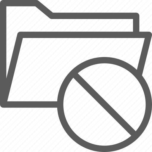 computer, digital, document, folder, folders, remove icon