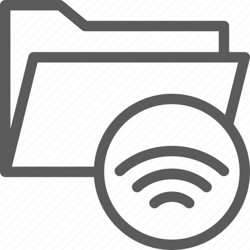 computer, digital, document, folder, folders, synchronize icon