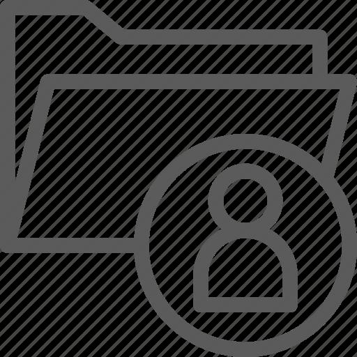 computer, digital, document, folder, folders, user icon