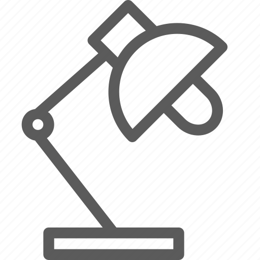 adjustable, appliance, furniture, goods, home, lamp, stuff icon