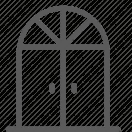 appliance, classic, door, furniture, goods, home, stuff icon