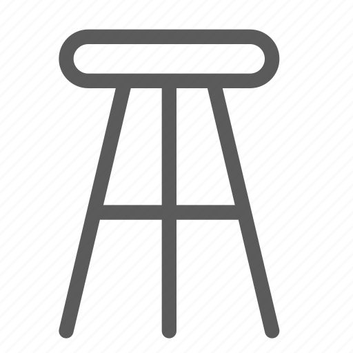 appliance, chair, furniture, goods, high, home, stuff icon
