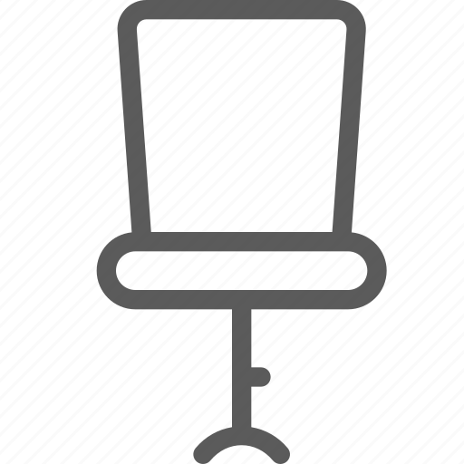 appliance, chair, furniture, goods, home, office, stuff icon