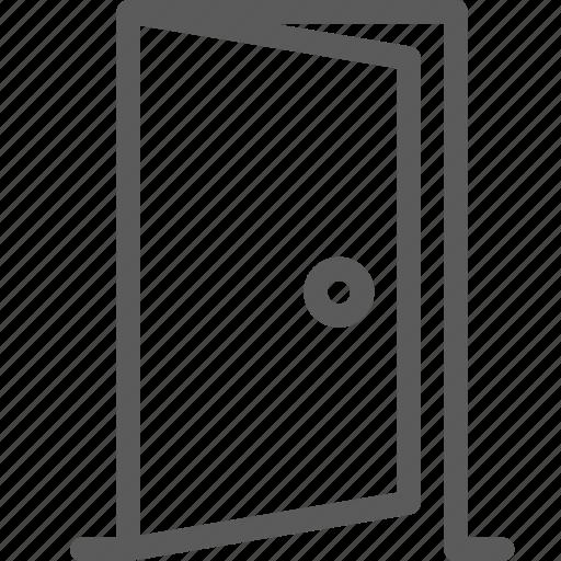 appliance, door, furniture, goods, home, open, stuff icon