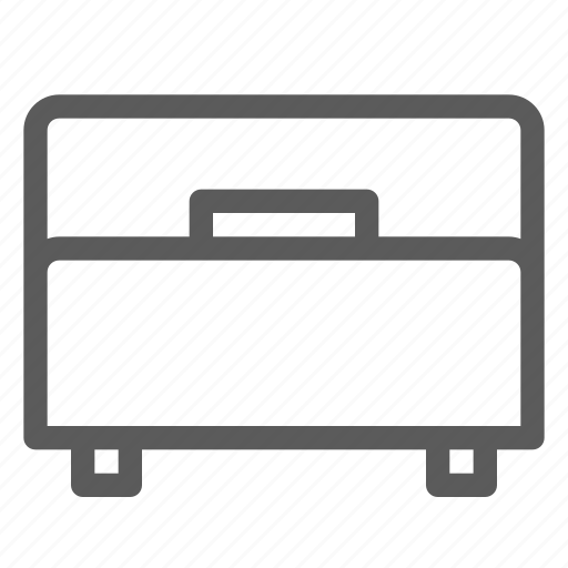 appliance, bed, furniture, goods, home, single, stuff icon