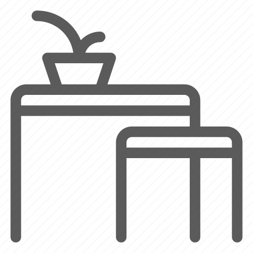 appliance, furniture, goods, home, small, stuff, tables icon