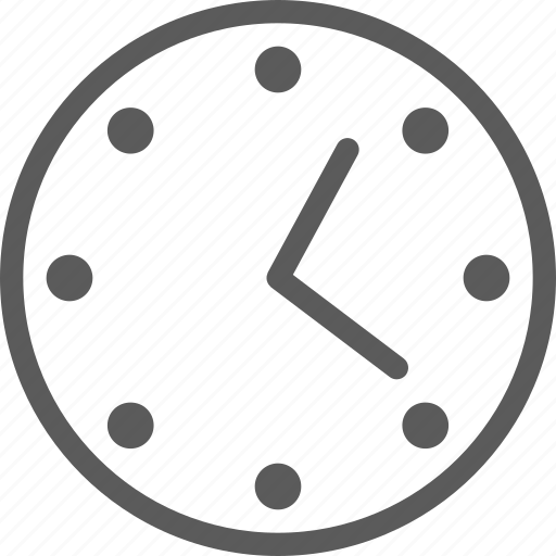 appliance, clock, furniture, goods, home, stuff, wall icon