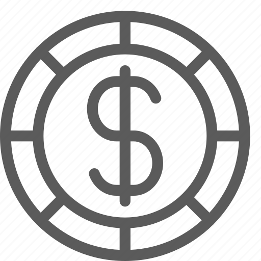bet, casino, dollar, gambling, gaming, luck, tips icon