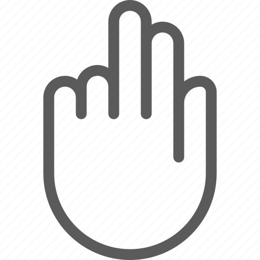 fingers, gesture, phone, screen, technology, touch icon