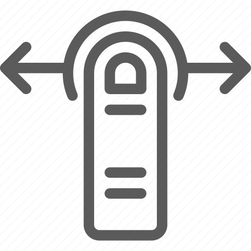 finger, gesture, left, right, technology, touch icon
