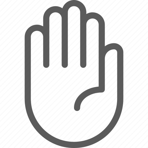 gesture, phone, screen, stop, technology, touch icon