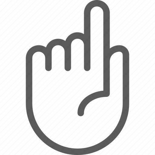 finger, gesture, phone, screen, stop, technology, touch icon