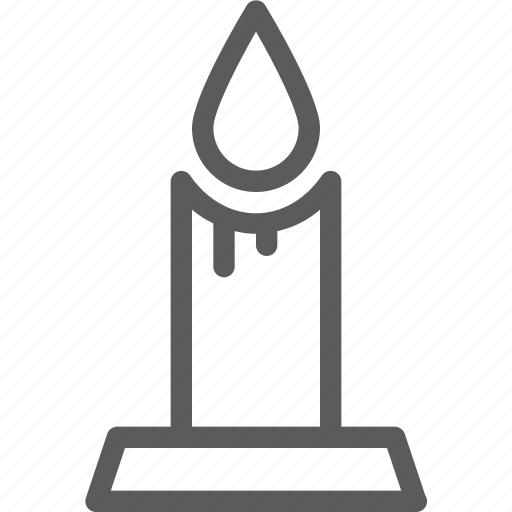 candle, easter, halloween, holiday, party, religion, scary icon