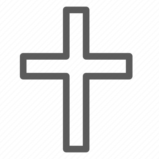 cross, easter, halloween, holiday, party, religion icon