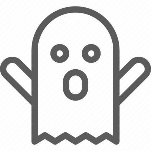easter, ghost, halloween, holiday, party, religion, scary icon