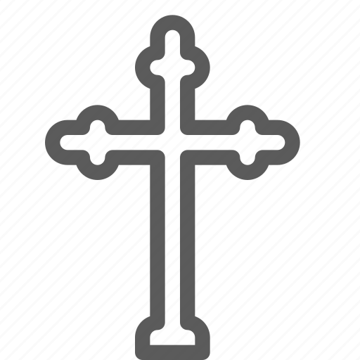 cross, easter, halloween, holiday, holy, party, religion icon