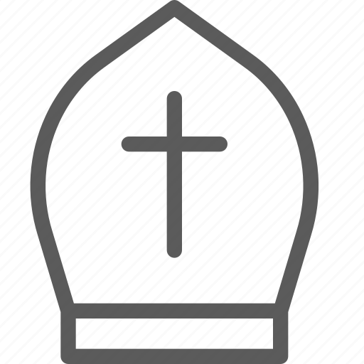 easter, halloween, hat, holiday, party, priest, religion icon
