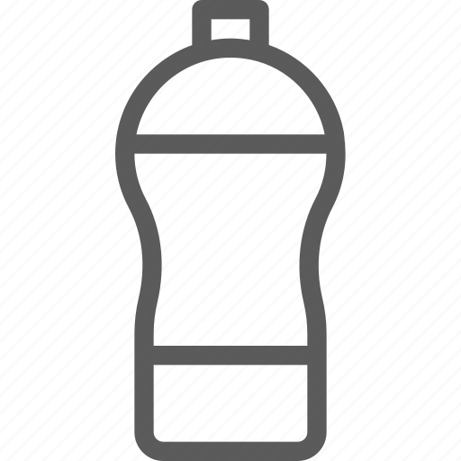 bottle, exercise, fitness, health, loss, water, weight icon