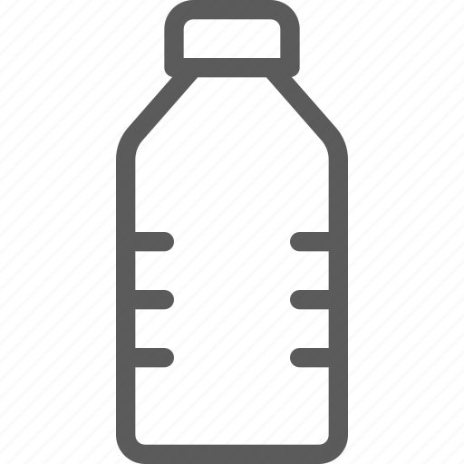 bottle, fitness, health, loss, small, water, weight icon