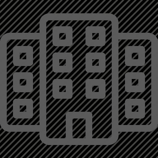 building, hostel, hotel, motel, resort, shelter icon