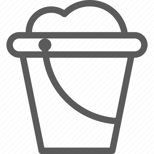 agriculture, bucket, corporation, cultivation, farming, loaded, production icon
