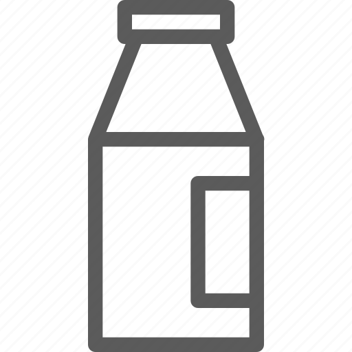 agriculture, bottle, corporation, cultivation, farming, milk, production icon