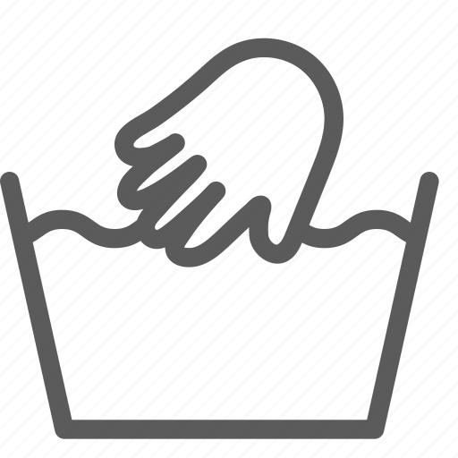 clean, clothing, hand, laundry, machine, wash icon