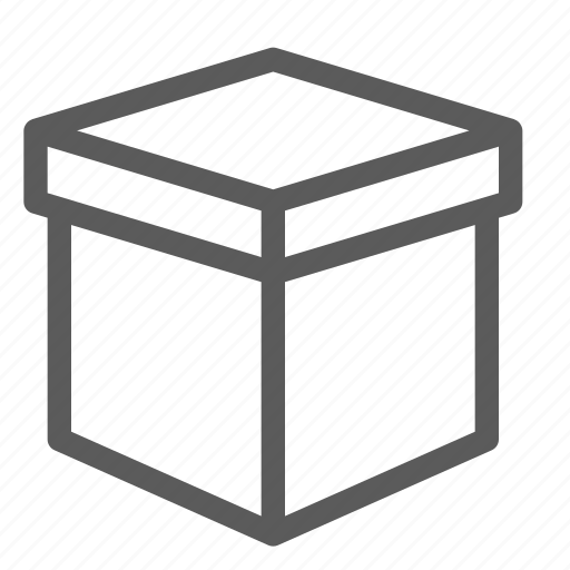 box, commercial, logistics, office, organizing, shipping icon