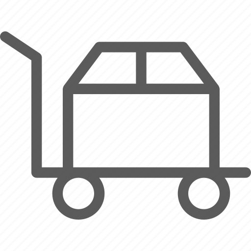 box, commercial, loading, logistics, office, organizing, shipping icon