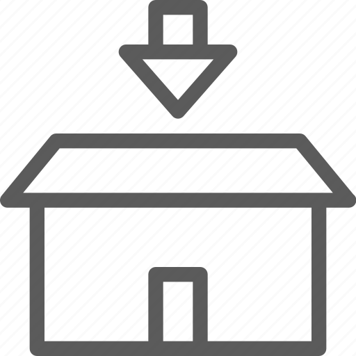 box, commercial, insert, logistics, office, organizing, shipping icon