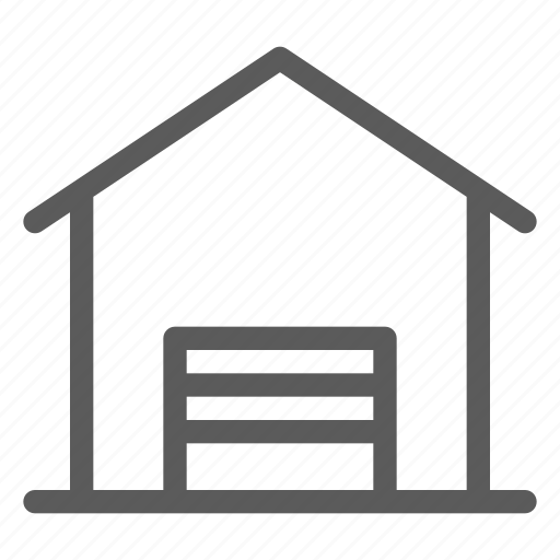 commercial, logistics, office, organizing, shipping, warehouse icon