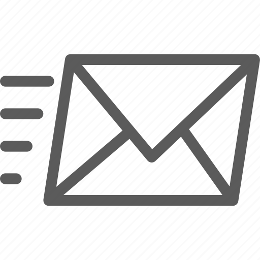 communication, email, internet, letter, mail, post, sent icon
