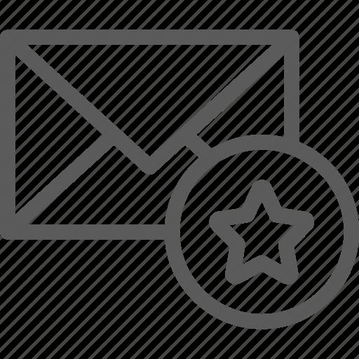 communication, favorite, internet, letter, mail, post icon