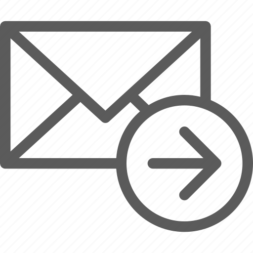 communication, internet, letter, mail, move, post icon