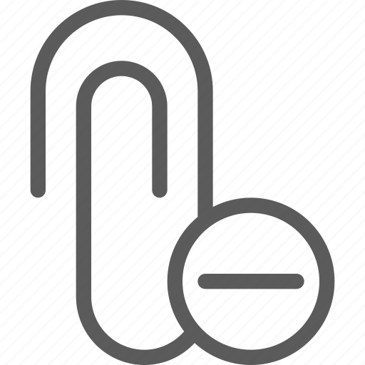 attachment, communication, internet, letter, mail, post, remove icon
