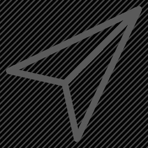 arrow, communication, internet, letter, mail, post, send icon