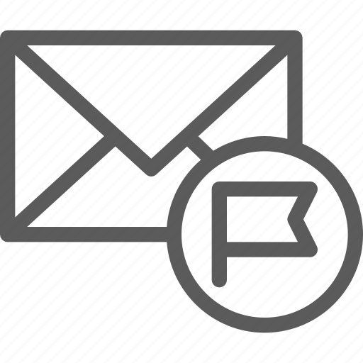 communication, internet, letter, mail, post, spam icon