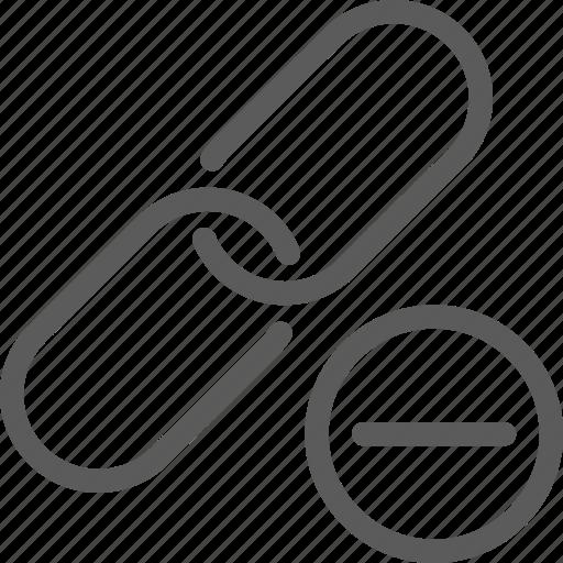 commerce, engine, hyperlink, optimization, remove, search, seo icon