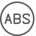 abs, car, fix, mechanic, repair, technician icon