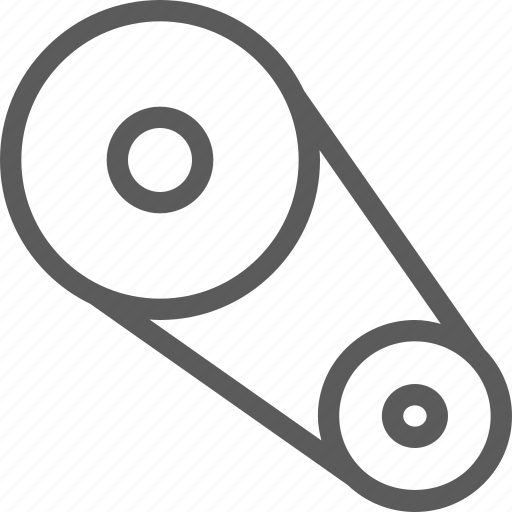 belt, car, engine, fix, mechanic, repair, technician icon