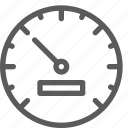 car, fix, gauge, mechanic, repair, technician icon