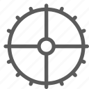 car, fix, gear, mechanic, repair, technician icon